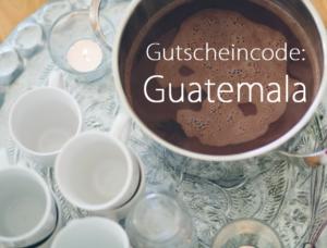 Cacao Ritual Gutscheincode Guatemala